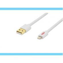 Ednet iPhone® Lightning-USB Sync/akulaadija...