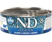 Farmina N&D OCEAN Cat Adult - salmon...