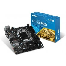 Emaplaat MSI H110I PRO s1151 H11 0 2DDR4...