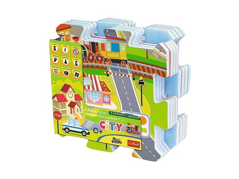 5d775322fd9 TREFL Educational Fun City Fun 5 in 1 60696 - OX.ee