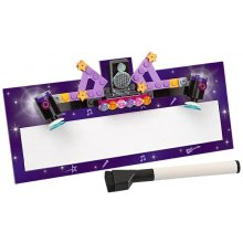 LEGO Friends Cardboard Name Plate