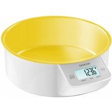Кухонные весы Sencor SKS 4004YL LCD, max 5kg