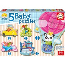 Educa Baby Puzzle 19 elements Driving...