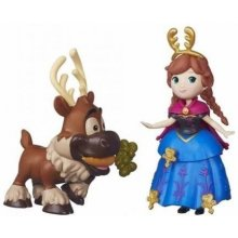 HASBRO Frozen Mini doll с a friend Anna