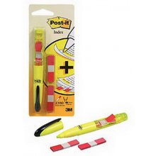 3M Tekstimarker Post-it index Duo kollane