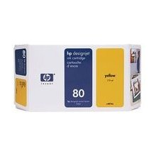 Tooner HP C4848A 80 tint Cartridges, 0 - 40...