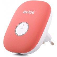 Netis WIFI Repeater 300Mbps + RJ-45, розовый