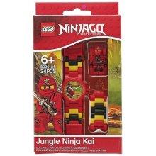LEGO Zegarek Ninjago Kai mini figurka