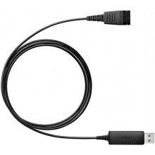 Jabra Kabel ссылка 230 QD auf USB Plug&Play