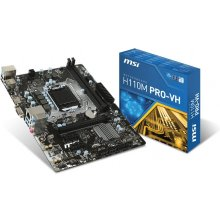 Emaplaat MSI MB H110M Pro-VH (H110, S1151...