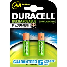 DURACELL AA/HR6, 2400 mAh, Rechargeable Accu...