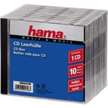 Диски Hama 1x10 CD Jewel чехол 44746
