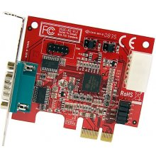 StarTech.com 2-Port PCI-E Serial Card, PCIe...