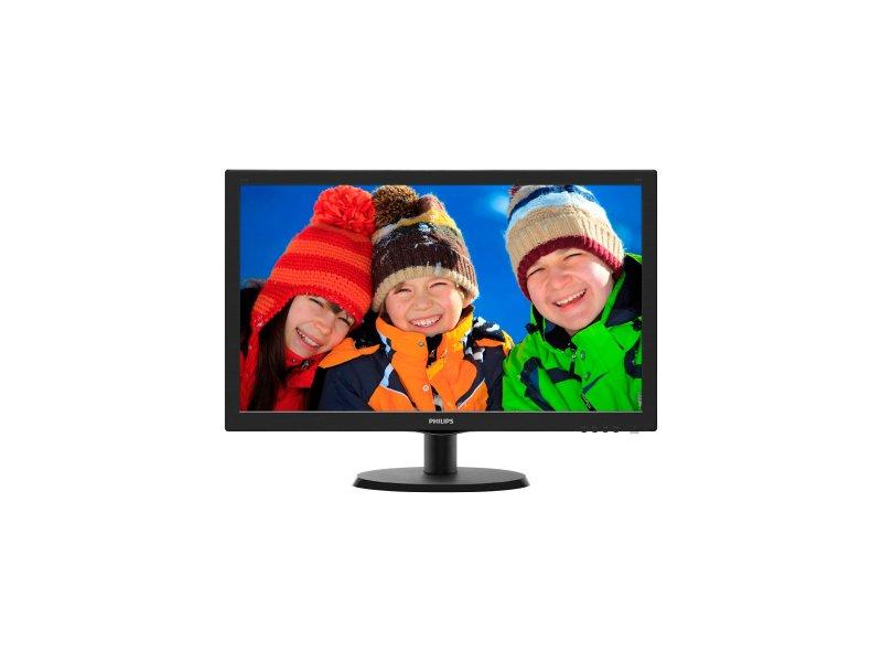 "Philips 223V5LSB 21.5/"" FHD LED Monitor Display 1920X1080 5ms 10M:1 Tilt Adjust."