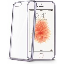 Celly iPhone 5S/SE чехол Laser, серебристый