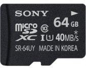 Mälukaart Sony Mäluk . SD mikro 64GB...