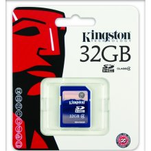 Mälukaart KINGSTON SDHC 32Gb