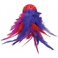 Kong CAT MEGA FEATHER BALL