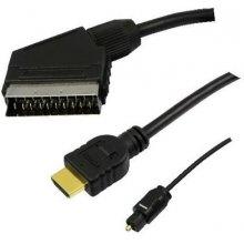 LogiLink CHB002A Kabel-Set SCART / Toslink...