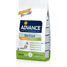ADVANCE cat Sterilized Turkey и Barley 15 кг...