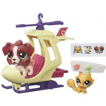HASBRO LPS pets vehicles, helicopter