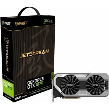 Видеокарта PALIT GeForce GTX1070 Jetstream...