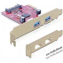 Delock PCI Express Card->2xUSB 3.0+1xSATA...