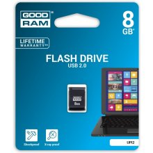 Флешка GOODRAM PICCOLO 8GB USB2.0 чёрный