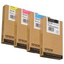Тонер Epson T6124 Tinte жёлтый