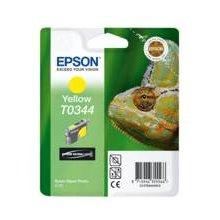 Тонер Epson чернила T0344 жёлтый | Stylus...