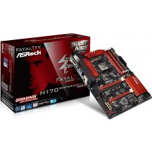 Emaplaat ASRock H170 PERFORMANCE, H170...
