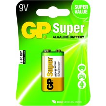 GP Batteries 9V Super Alkaline, Alkaline...