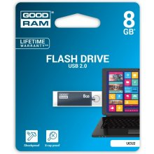 Флешка GOODRAM Cube Graphite 8GB USB2.0