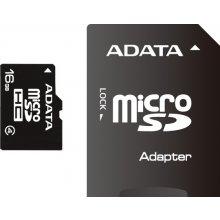 Флешка ADATA память card microSDHC 16GB CL4...