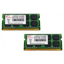 Mälu G.Skill SO DDR3 8GB PC 1066 CL7 (2x4GB)...
