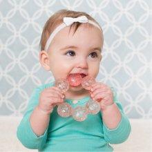 B-kids Water teether Infantino Beads pink