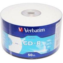 Toorikud Verbatim CD-R 52x 700MB 50P SP...