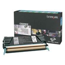 Тонер Lexmark Toner C522n чёрный C5220KS
