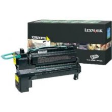 Тонер Lexmark X792X1YG Return Toner жёлтый