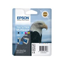 Tooner Epson Set T007&T008 black + color...