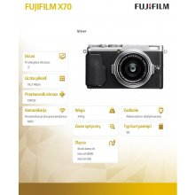 Fotokaamera FUJIFILM Digital camera FinePix...