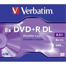Toorikud Verbatim DVD+R Double Layer 8x...