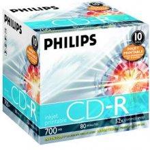 Toorikud Philips CD-R 80 Minuten 700MB 52X...