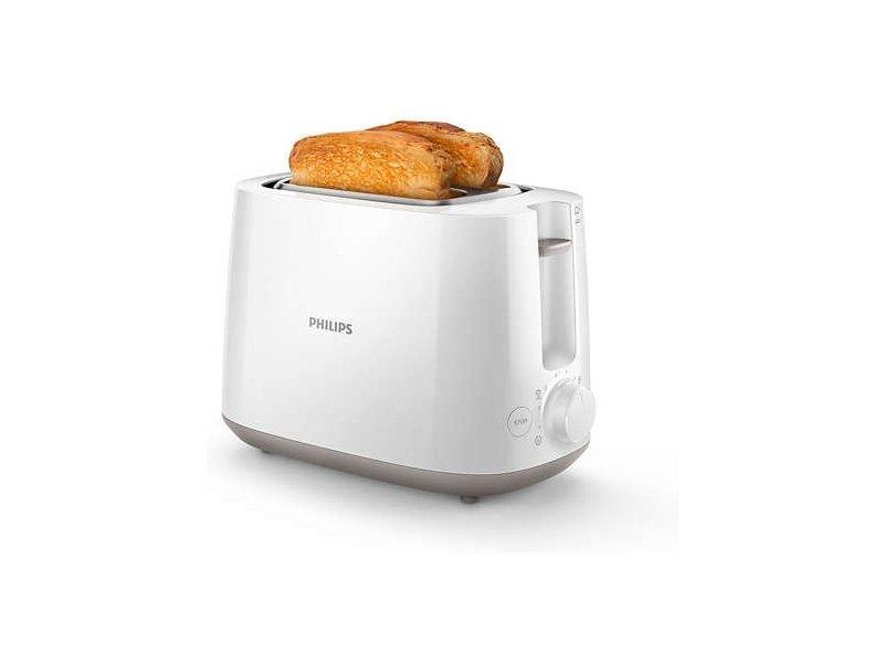 philips hd2581 00 toaster 2 schlitz 830w 8 stufen. Black Bedroom Furniture Sets. Home Design Ideas