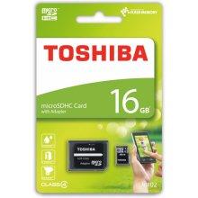 Mälukaart TOSHIBA microSDHC Class 4 16GB...