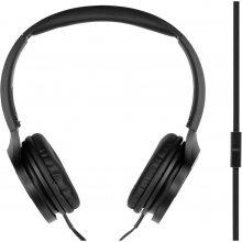 PANASONIC наушники + микрофон RP-HF500ME-K...