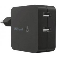 TRUST Wall akulaadija koos 2 USB ports -...