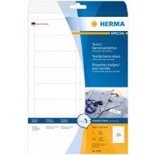 Herma Textile/Name наклейки 4420 25 Sheets...