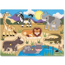 Melissa & Doug Wooden puzzle - Safari