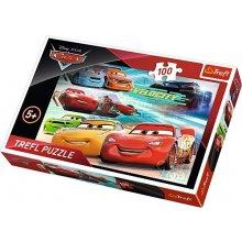 TREFL 100 pcs Cars 3 Race's heroes